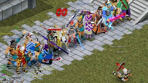mmo-games-conquer-online-group-screenshot