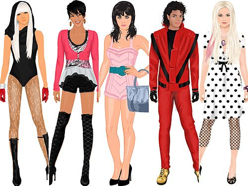 Cool Dress Up And Fashion Games
