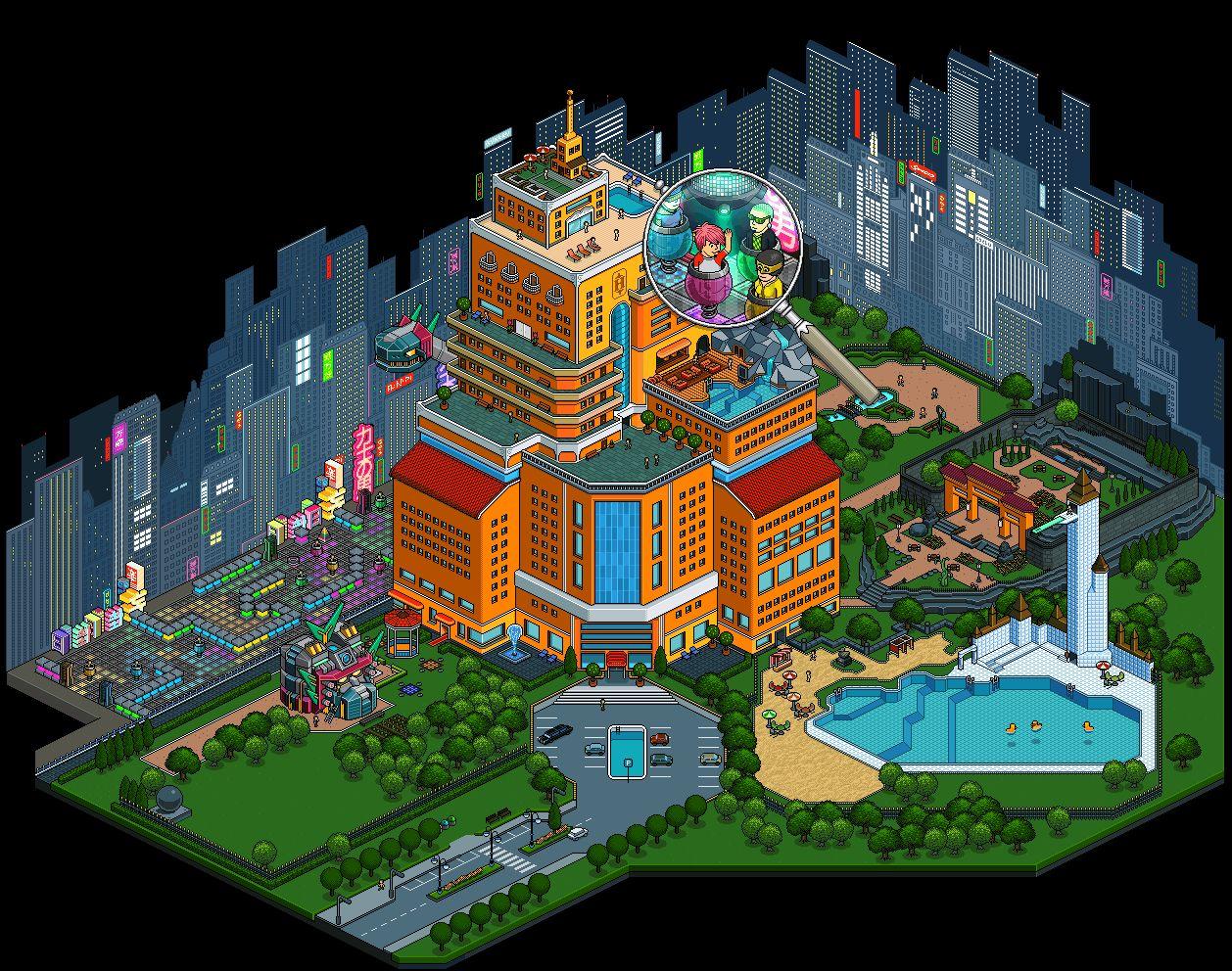 Habbo Hotel - MMOGames.com
