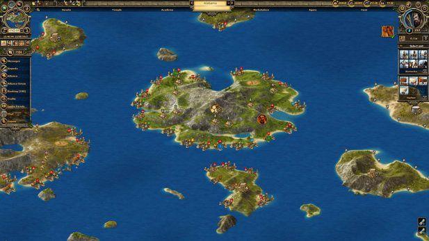 Grepolis Screenshot Harbors