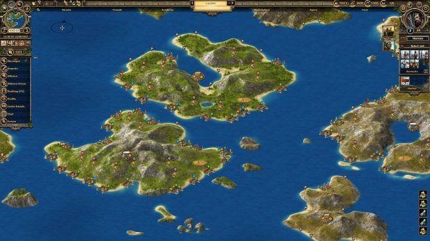 Grepolis Screenshot Islands