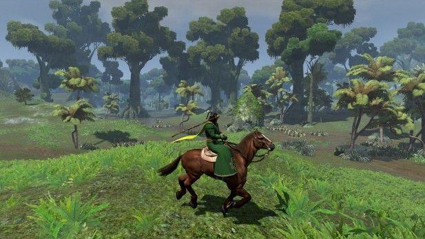 age conan riding horse mmogames