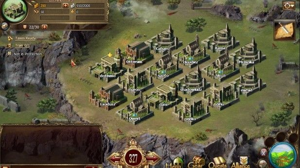 strategy-mmo-games-chronicles-of-merlin-city-screenshot