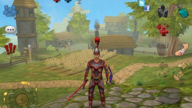 mobile-mmo-games-celtic-heroes-red-armour-screenshot