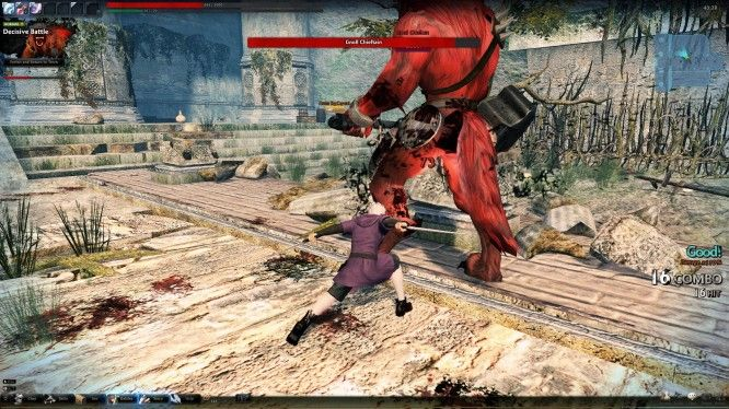 fantasy-action-mmo-games-vindictus-xe-boss-gnoll-chieftain-screenshot