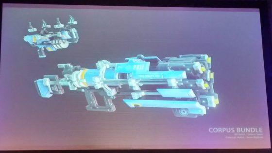 Warframe Concept Art Weapons
