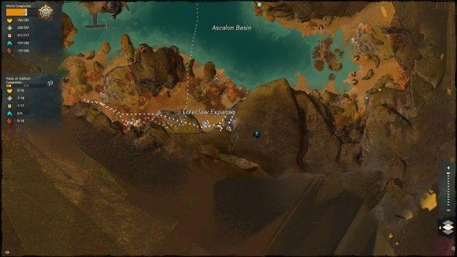 fantasy mmorpg mmo games guild wars 2 jumping puzzle loreclaw expanse screenshot 1