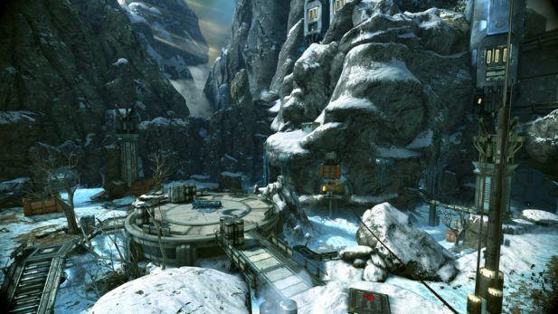Warframe Screenshot 2017 Frozen Mountains