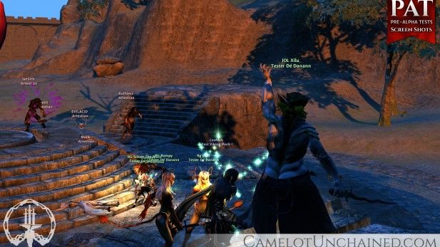Camelot Unchained C.U.B.E. - MMOGames.com - Your source for MMOs & MMORPGs