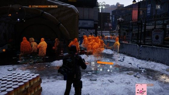 Tom Clancy's The Division Screenshot Leaked Alpha Crowd