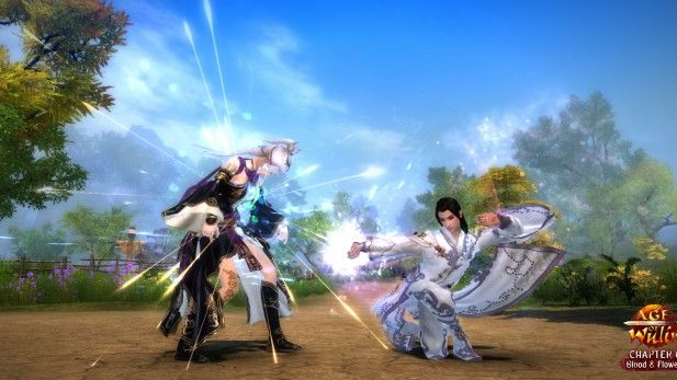 Age of Wulin - Chapter 6 - Blood & Flowers