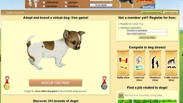 Dogzer Screenshot Adopt