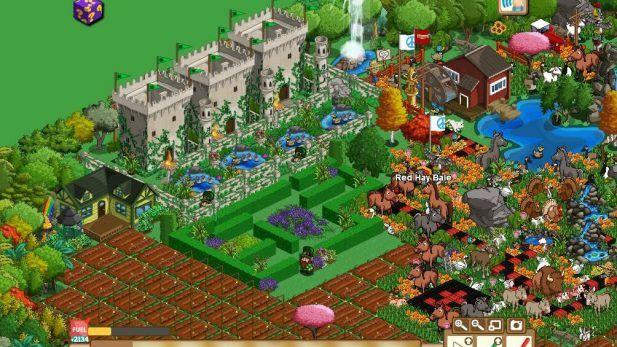 Farmville Screenshot Castle