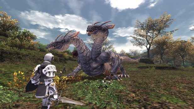 Final Fantasy XI Online Screenshot Two Headed Dragon