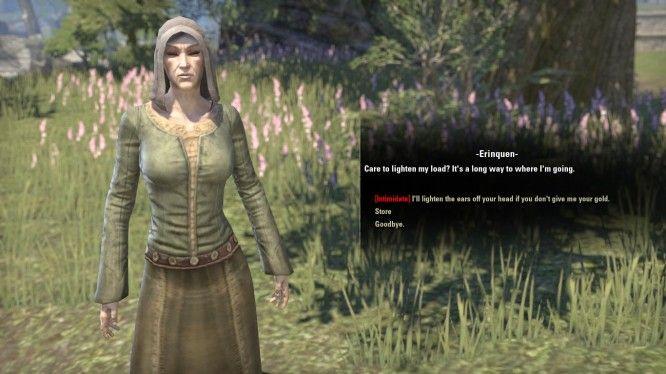 Elder Scrolls Online Intimidating