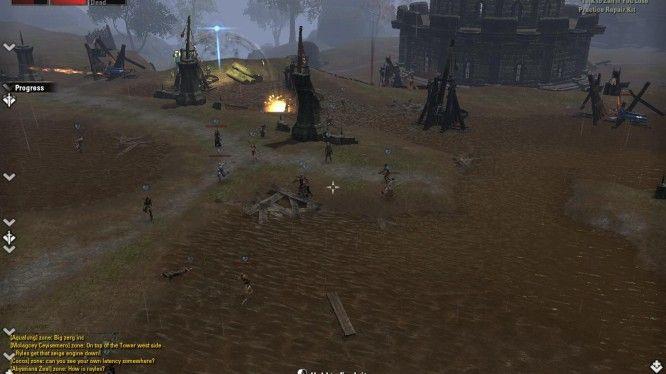 Elder Scrolls Online PvP Combat
