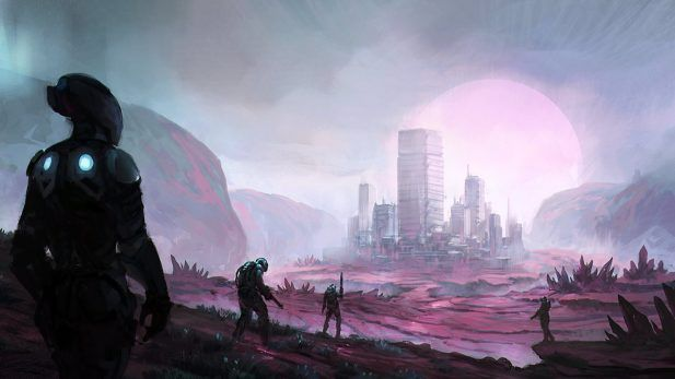 Divergence Online Screenshot Alien City