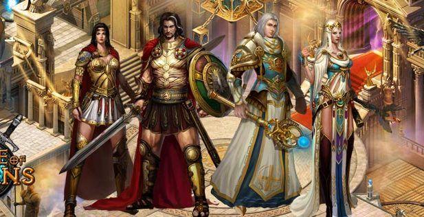 Rage of Titans Screenshot Characters