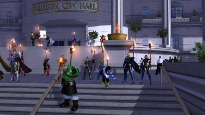 10th Anniversary of City of Heroes