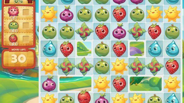 Farm Heroes Saga Screenshot Fruit