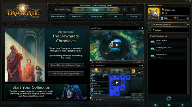 Dawngate is a free to play MOBA