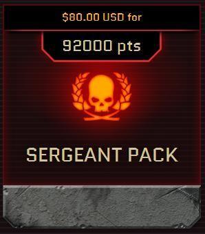 Warhammer 40k Sergeant Pack