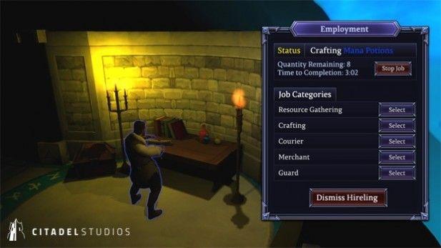 Shards Online Screenshot Beta Crafting