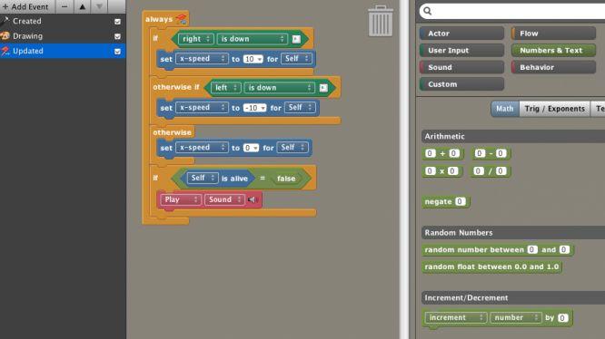 Stencyl Interface Indie Games