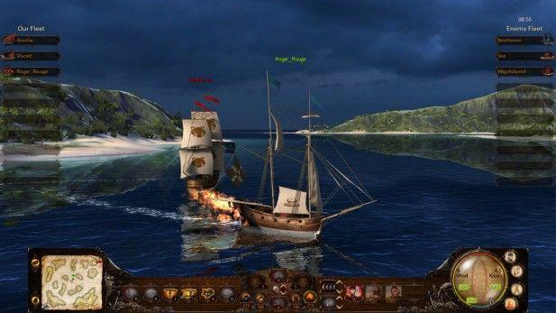 Wind of Luck Screenshot Fire