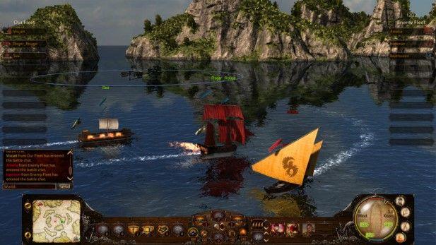 Wind of Luck Screenshot Sea Battle
