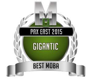 Best MOBA - Gigantic - PAX Medal