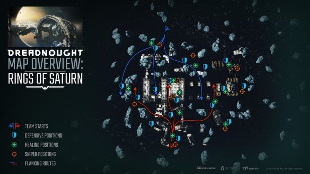 Dreadnought Screenshot Map