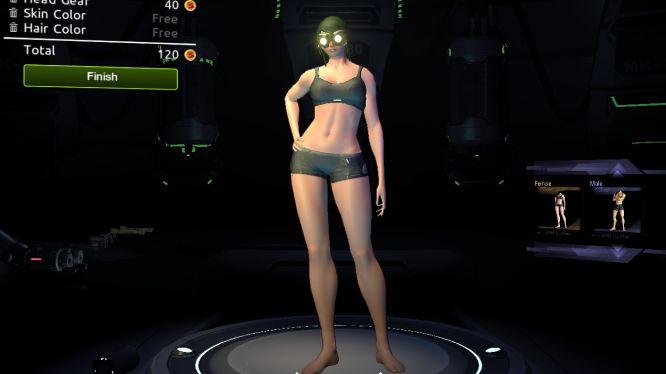 Firefall- Female model
