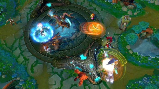 Dawngate. One less MOBA in an oversaturated market.