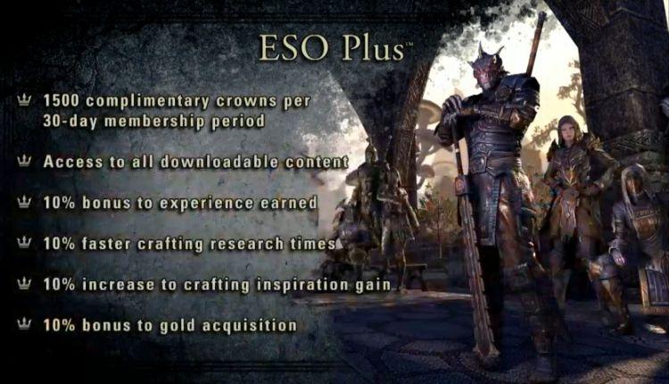 Elder Scrolls Online Buy to Play Explained - MMOGames com