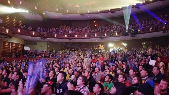 eSports audience @ SWC