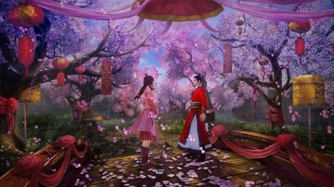 Age of Wushu wedding