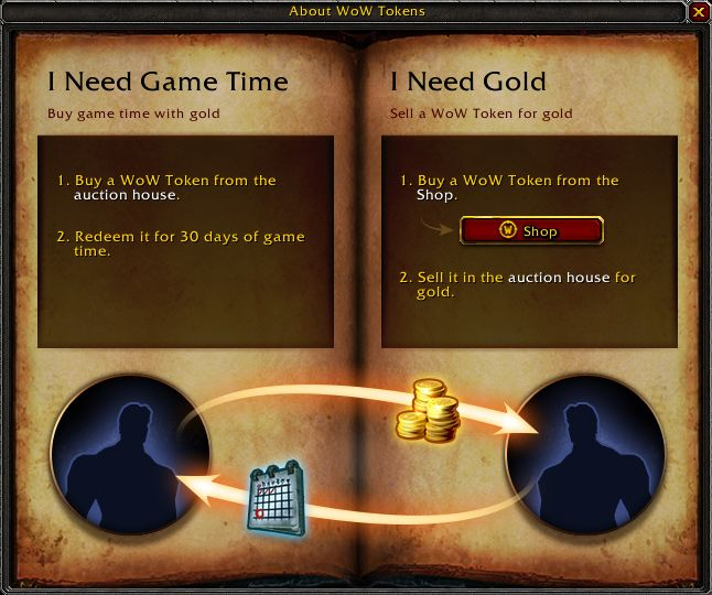 World of Warcraft Gametime Token - MMOGames.com - Your source for MMOs & MMORPGs