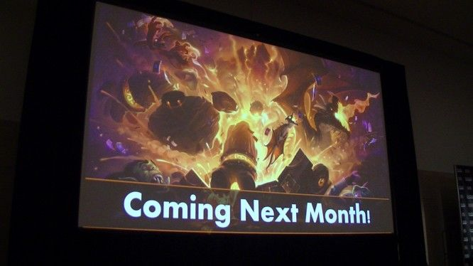 New Hearthstone adventure teased - MMOGames.com