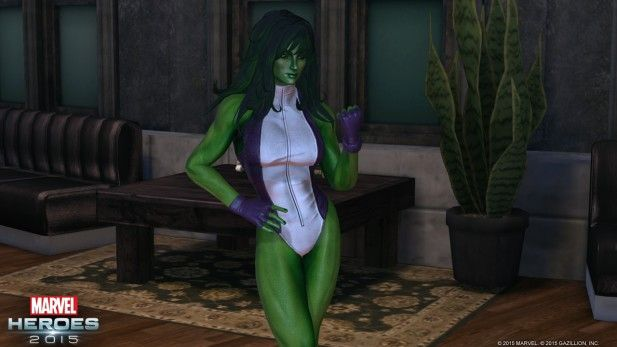 Marvel Heroes 2015 She-Hulk - MMOGames.com - Your source for MMOs & MMORPGs