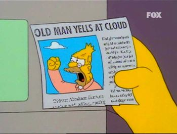 Old Man Yells At Cloud Simpsons - MMOGames.com - Your source for MMOs & MMORPGs