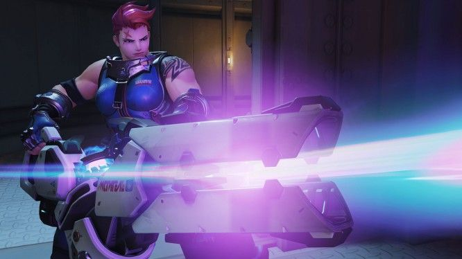 Overwatch Zarya - MMOGames.com - Your source for MMOs & MMORPGs