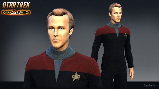 Star Trek Online Tom Paris Season 10 - MMOGames.com - Your source for MMOs & MMORPGs