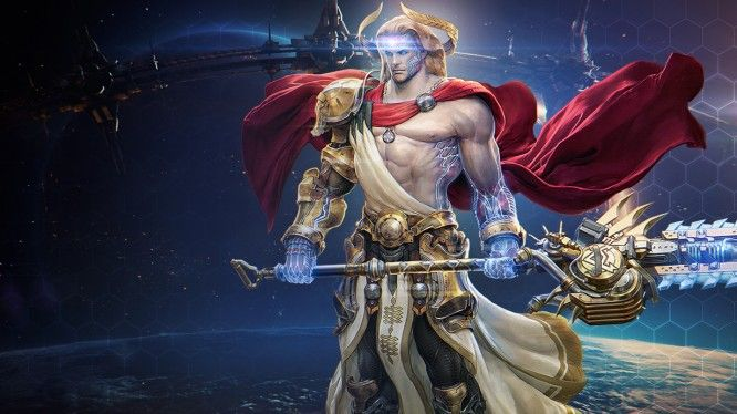 Skyforge God Form