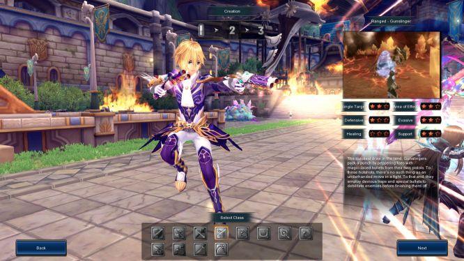 Aura Kingdoms - Character Creation