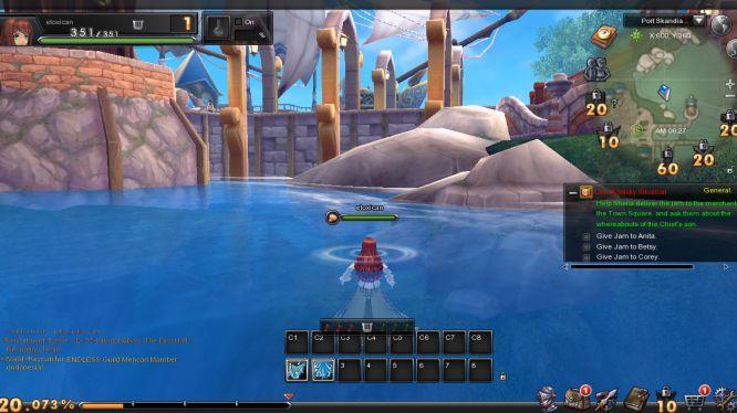 Aura Kingdoms - Water