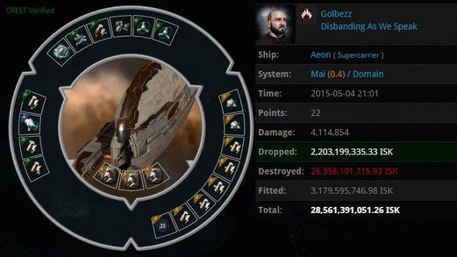 EVE Online - AEON Kill