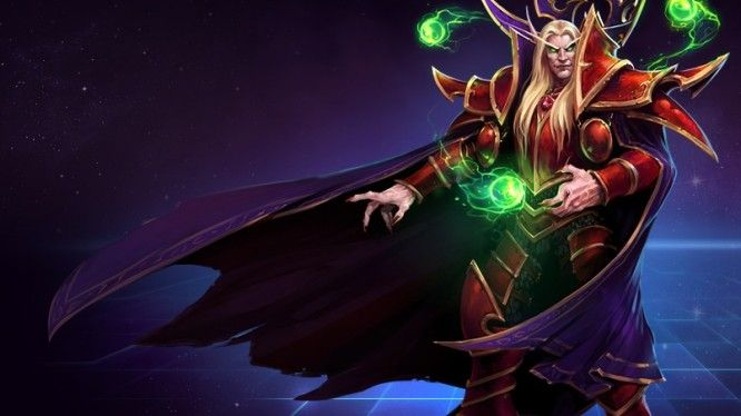 Kael'thas Sunstrider heroes of the storm - MMOGames.com - Your source for MMOs & MMORPGs