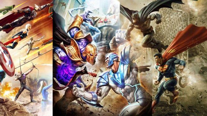 Marvel Heroes DCUO Champions Online