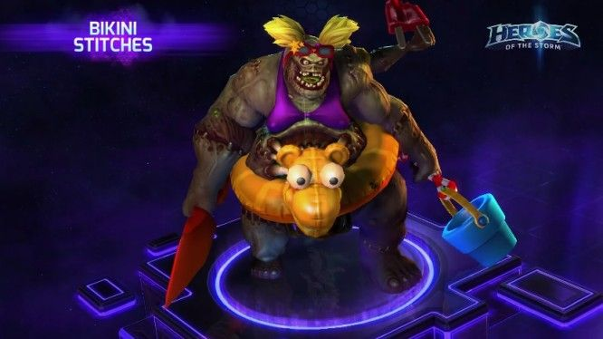 heroes of the storm bikini stitches skin - MMOGames.com - Your source for MMOs & MMORPGs